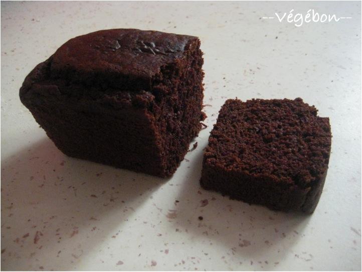 Gateau avec cacao sans oeuf