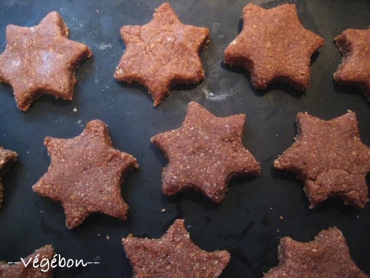 Biscuit de noel moelleux au chocolat
