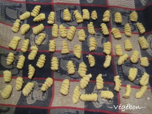 Gnocchi à la farine de maïs