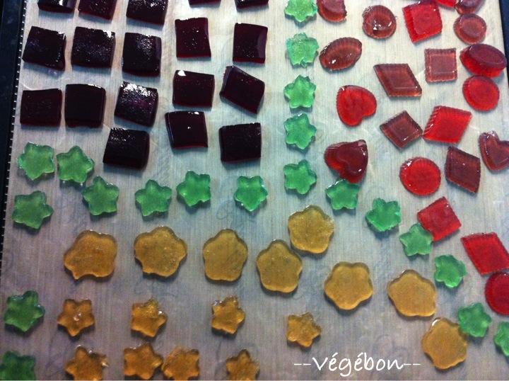 Bonbons Gelifies Sans Gelatine Vegebon