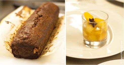 Les pommes et coings pochés et leur pain d'épices de Céline, lauréate dans la catégorie Desserts
